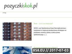 Miniaturka pozyczkiskok.pl (Informacje o SKOKach)