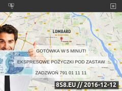 Miniaturka domeny pozyczpodzastaw.pl