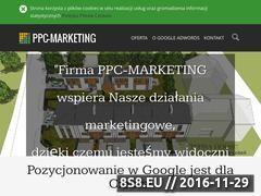 Miniaturka domeny www.ppc-marketing.pl