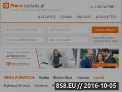 Miniaturka www.praca-czeladz.pl (Ogłoszenia o pracę Czeladź)