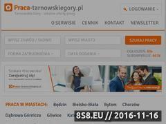 Miniaturka www.praca-tarnowskiegory.pl (Ogłoszenia Tarnowskie Góry)