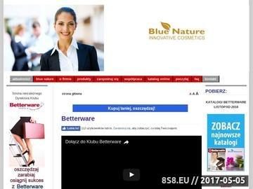Zrzut strony Betterware - Odnieś sukces w biznesie MLM, zapoznaj się z katalogiem.
