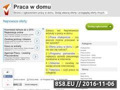 Miniaturka domeny pracawdomu.com.pl