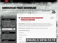 Miniaturka domeny pracebudowlane.wordpress.com