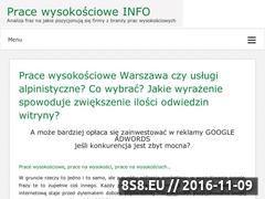 Miniaturka domeny pracewysokosciowe.info