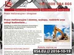 Miniaturka domeny praceziemneelblag.com.pl