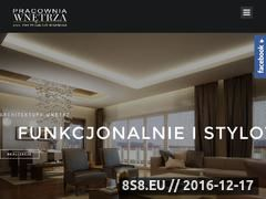 Miniaturka domeny www.pracownia-wnetrza.pl