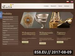 Miniaturka domeny pracowniacalix.com