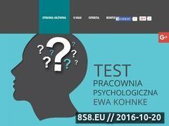 Miniaturka domeny www.pracowniapsychologicznapuck.pl