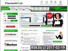 Miniaturka domeny www.pracownik24.pl