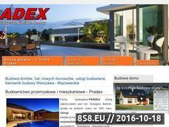 Miniaturka domeny pradex.pl