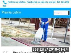 Miniaturka pralnia-lublin.pl (Pranie dywanów Lublin)