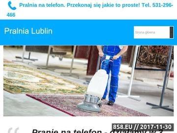 Zrzut strony Pranie dywanów Lublin