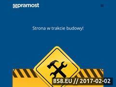 Miniaturka domeny pramost.pl