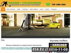 Miniaturka domeny pranie-dywanow.wroclaw.pl