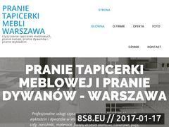 Miniaturka domeny www.pranie-kanapy.pl