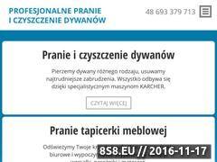 Miniaturka domeny praniedywanow-warszawa.com.pl
