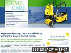 Miniaturka domeny www.praniedywanowiwykladzin.pl