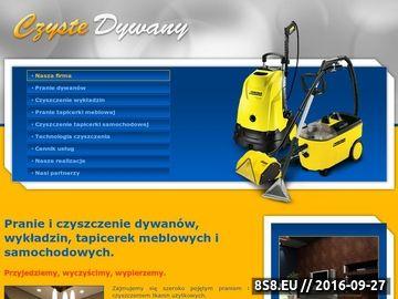 Zrzut strony Czyszczenie dywanów, wykładzin, tapicerek - Wrocław