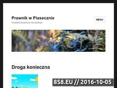 Miniaturka prawnik-piaseczno.pl (Prawnik w Piasecznie)