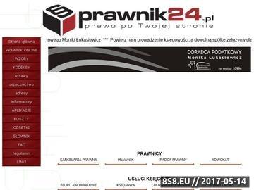 Zrzut strony Adwokat Poznań