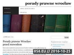 Miniaturka domeny prawnik365.wordpress.com