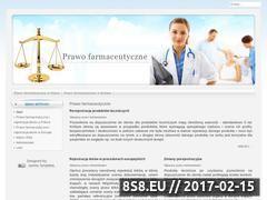 Miniaturka domeny prawo-farmaceutyczne.pl