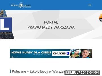 Zrzut strony Jazdy doszkalające Warszawa