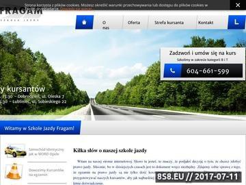 Zrzut strony Oferujemy pomoc w zdobyciu prawa jazdy w kategorii B i T