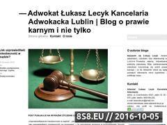 Miniaturka domeny www.prawokarne24.wordpress.com