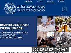 Miniaturka www.prawowroclaw.edu.pl (Studia wyższe)