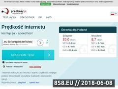 Miniaturka domeny www.predkosc.pl