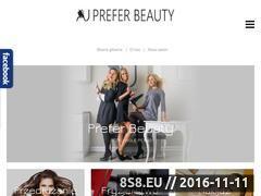 Miniaturka domeny preferbeauty.pl