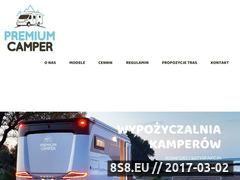 Miniaturka Wynajem kamperów i wynajem skuterow wodnych (premiumcamper.pl)
