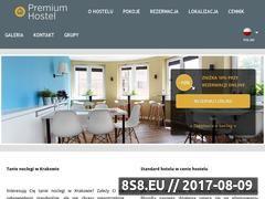 Miniaturka domeny www.premiumhostel.pl