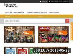 Miniaturka domeny premiumkarmy.pl