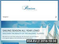 Miniaturka www.premiumyachting.pl (Imprezy firmowe na luksusowych jachtach)