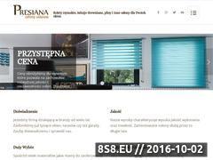 Miniaturka domeny www.presiana-rolety-krakow.pl
