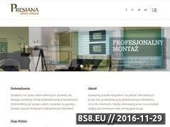 Miniaturka domeny www.presiana.pl