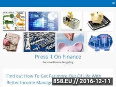 Miniaturka domeny www.pressitonfinance.com