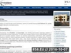 Miniaturka Pneumatyka, sprężarki i narzędzia pneumatyczne (pressmann.pl)