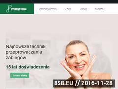 Miniaturka domeny prestige-clinic.net.pl