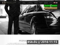 Miniaturka domeny www.prestige-line.pl