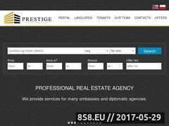 Miniaturka domeny prestige-real-estate-warsaw.pl