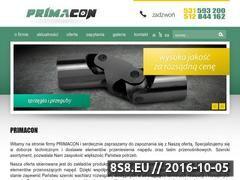 Miniaturka domeny primacon.pl