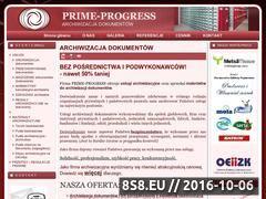 Miniaturka domeny www.prime-progress.pl
