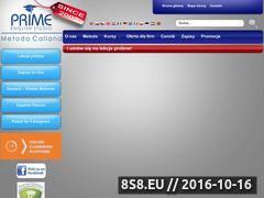 Miniaturka domeny www.primeenglish.pl