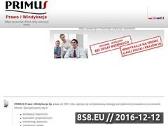 Miniaturka domeny www.primus.sos.pl