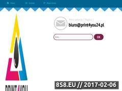 Miniaturka Usługi drukarskie (print4you24.pl)
