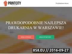 Miniaturka Drukarnia cyfrowa w Warszawie (printcity.pl)